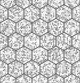 picture of hexagon pattern  - Seamless Hexagon Pattern - JPG
