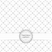 picture of diagonal lines  - Vector seamless pattern with vintage old banner and ribbon - JPG