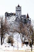 stock photo of dracula  - Bran Castle is known as Dracula - JPG