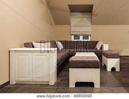 Interior Of The Loft Apartment - Living Room