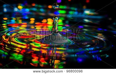 Psychedelic Water Drop
