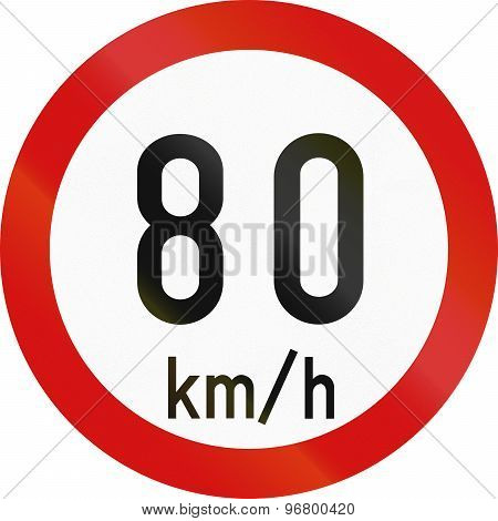 Speed Limit 80 In Ireland
