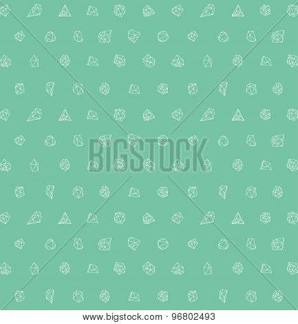 Abstract modern background with polygons design