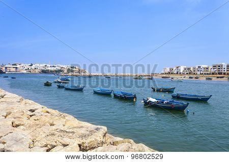 Bouregreg River, Morocco, Africa