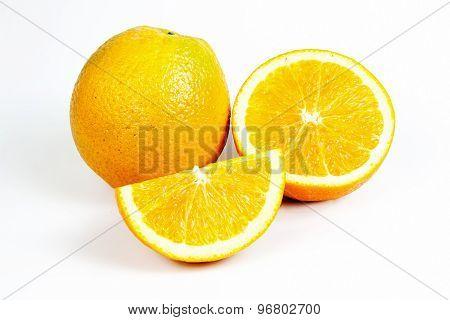 Orange Fruit Split