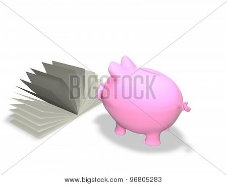 Piggy Bank Learning Finance