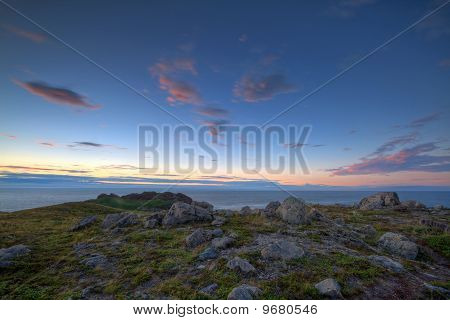 Atlantic Coastline at Sunrise