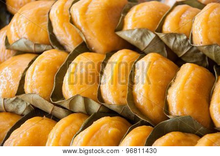 Popular Malaysian sweet desert known as Ang Koh.
