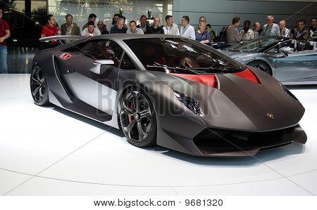 Lamborghini Sesto Elemento Concept At Paris Motor Show