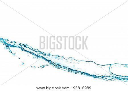 Water splash background.
