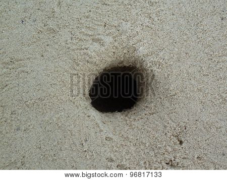Hole in the Sand