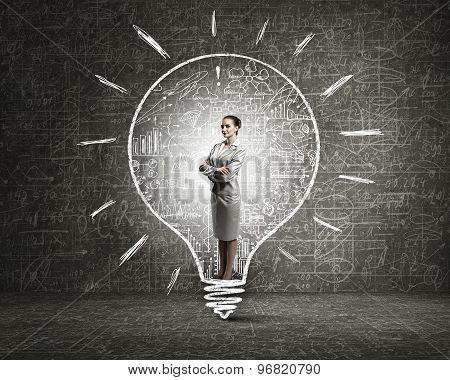 Creativity woman