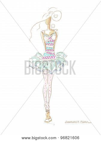 Fashion Summer Dress 208