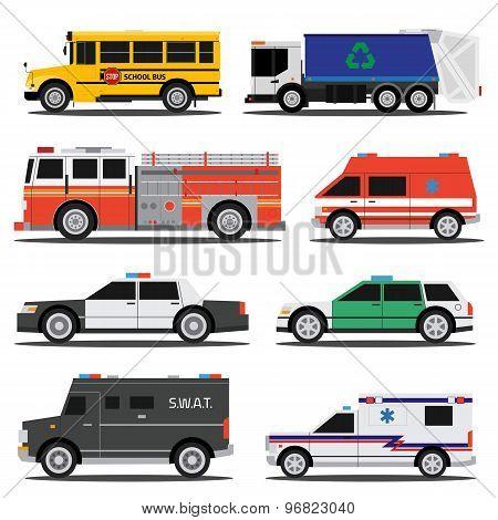 City Service Cars