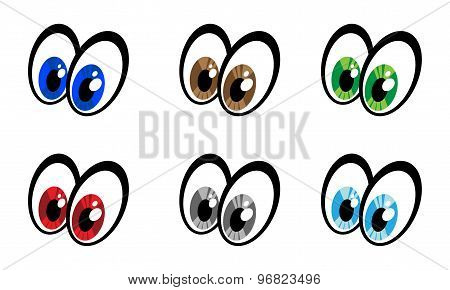 Eye cartoon