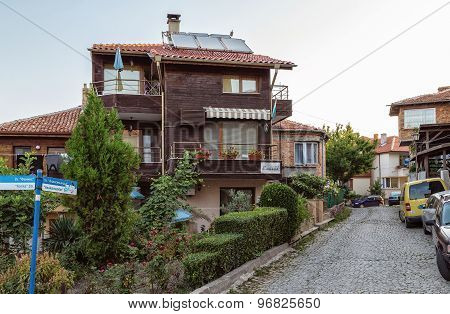Small Hotel In The Old Town Of Sozopol, Bulgaria