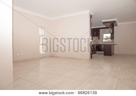 Living Area Of A New House