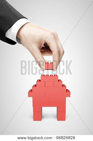 Hand Build House