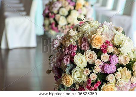 Fresh Nosegay Of Flowers