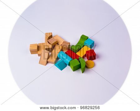 Educational Fun With Wooden Blocks