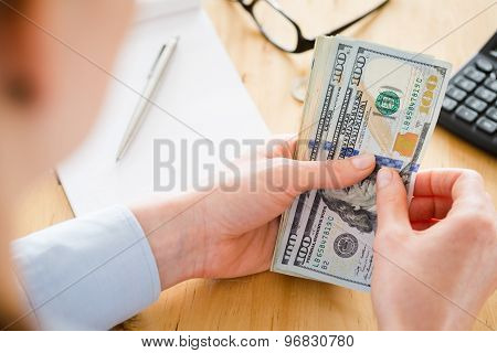 Finances And Budgeting - Accountant At Work