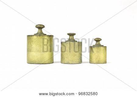 Old golden weights
