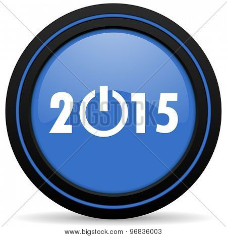new year 2015 icon new years symbol