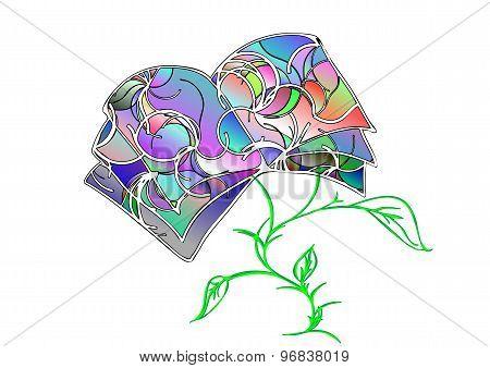 Multicolor Book