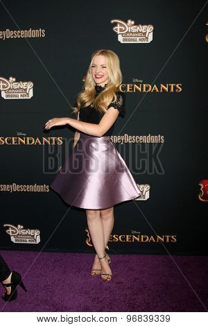 LOS ANGELES - JUL 24:  Dove Cameron at the
