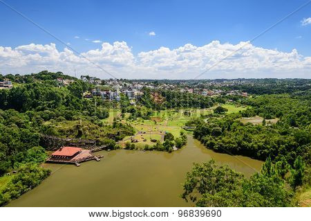 Top View Of Curitiba, Brazil