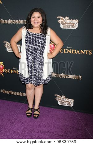 LOS ANGELES - JUL 24:  Raini Rodriguez at the