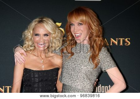 LOS ANGELES - JUL 24:  Kristin Chenoweth, Kathy Griffin at the