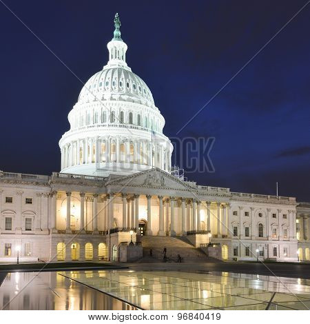 The Capitol Building in Washington DC - United States