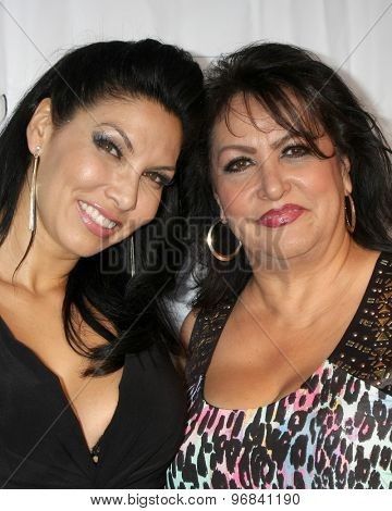 LOS ANGELES - JUL 23:  Crystal Santos, mother at the