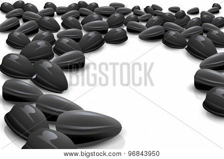 just seeds with round