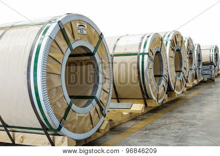 Cold Rolled Steel Coils In Package
