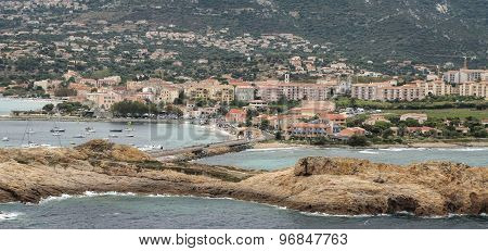 View Of Ile Rousse