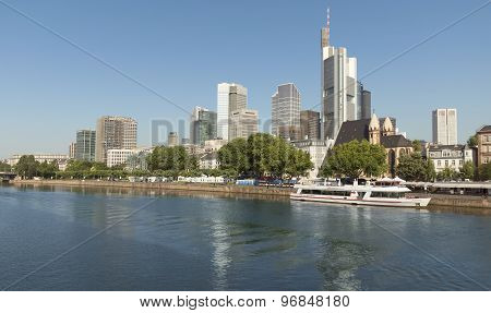 View Of Frankfurt Am Main, Germany