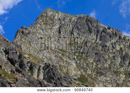 The Negoiu Peak. Fagaras Mountains, Romania