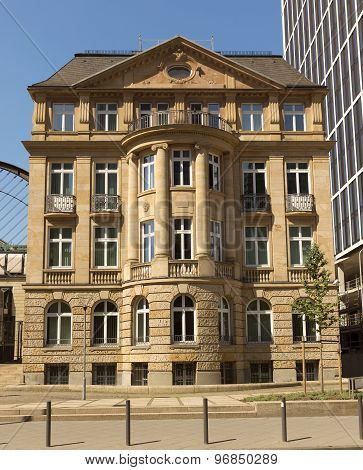Old Architecture Of Frankfurt Am Main