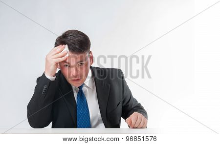 weary Businessman