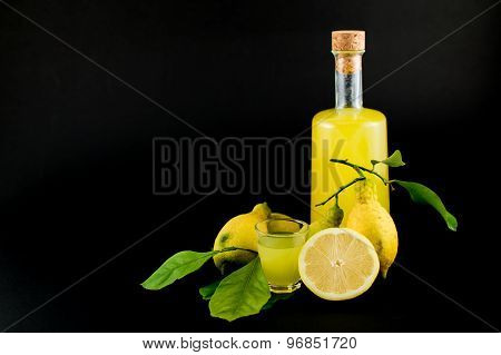Limoncello In Small Shots