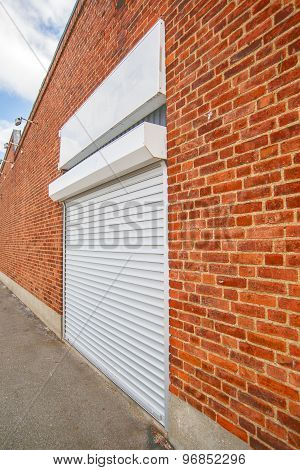 Industrial Roll Shutter Garage Door