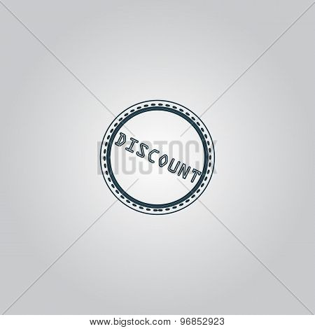 Discount Icon, Badge, Label or Sticker