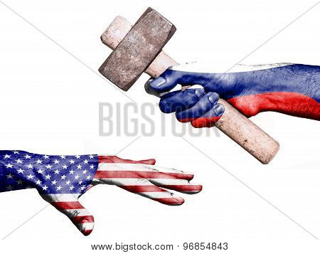 Russia Hitting United States With A Heavy Hammer