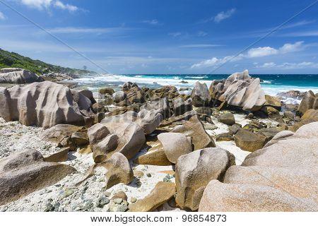 La Digue South Coast, Seychelles