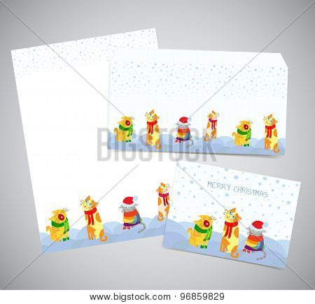 Winter Stationery Set