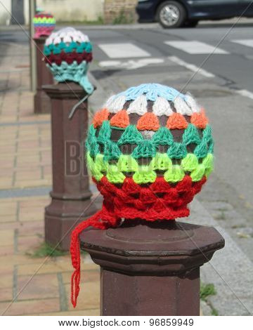 Colorful Urban Knitting
