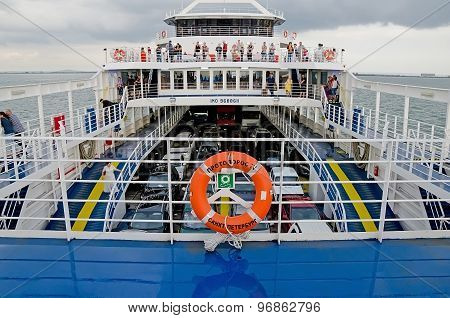 Upper Deck Passenger Ferry