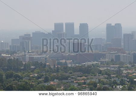 Downtown La Air Pollution